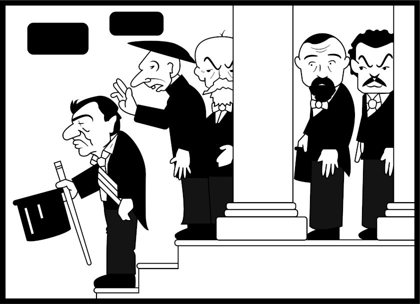 100 Years of Chilean Animation:  'La transmisión del mando presidencial'