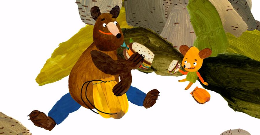 Hungry Bear Tales by Alexandra Májová and Kateřina Karhánková
