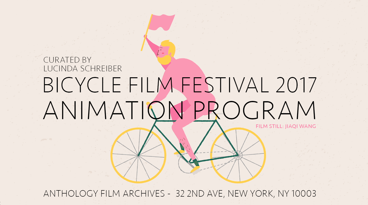 Bicycle Film Festival 2017: Animation Programme