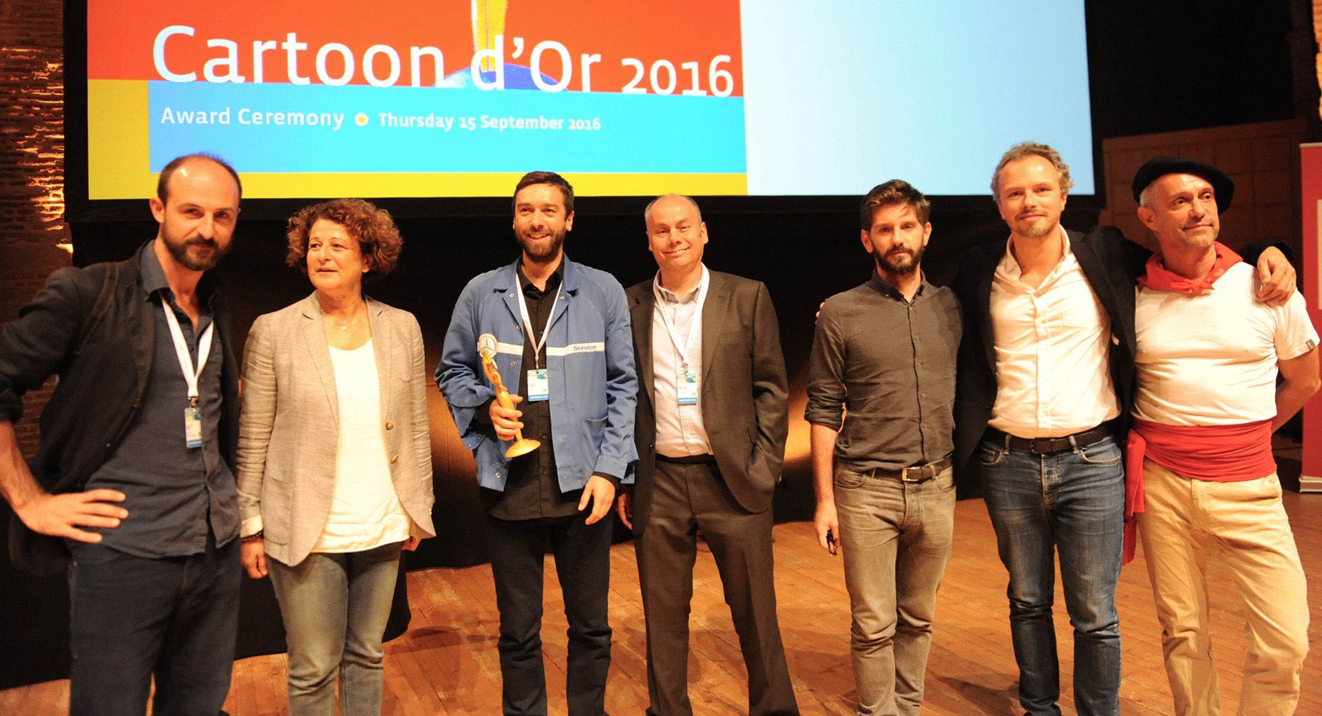 Cartoon D'Or Award Suppressed in Favor of European Animation Awards