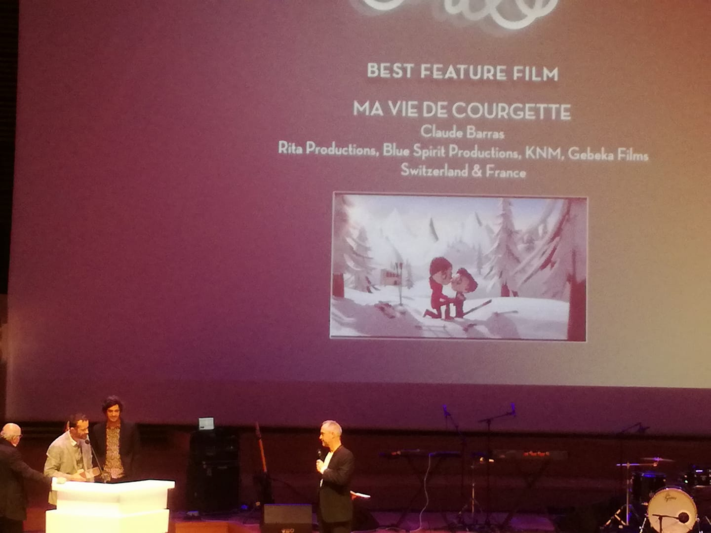 'My Life as a Zucchini', 'The Red Turtle' Win 2017 Emile Awards