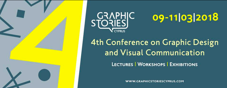Conference: Graphic Stories Cyprus, 9-11/3/2018
