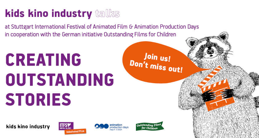 Kids Kino Industry Talks: Creating Outstanding Stories at ITFS and Animation Production Days