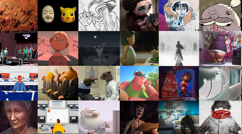 43 Animation Shorts for 3D Wire Fest 2020