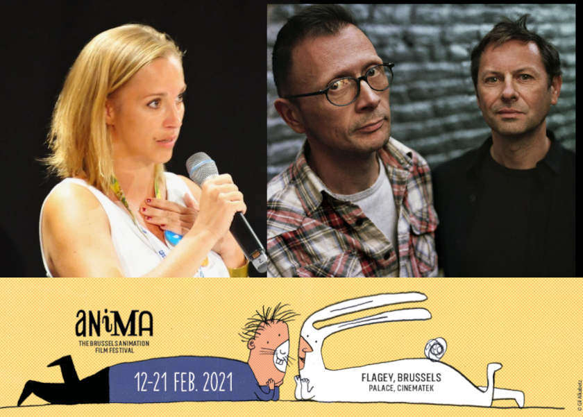 First Masterclasses for Anima Brussels 2021