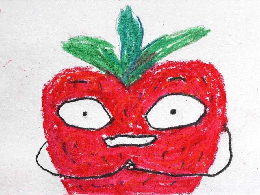 Strawberry by Péter Vácz