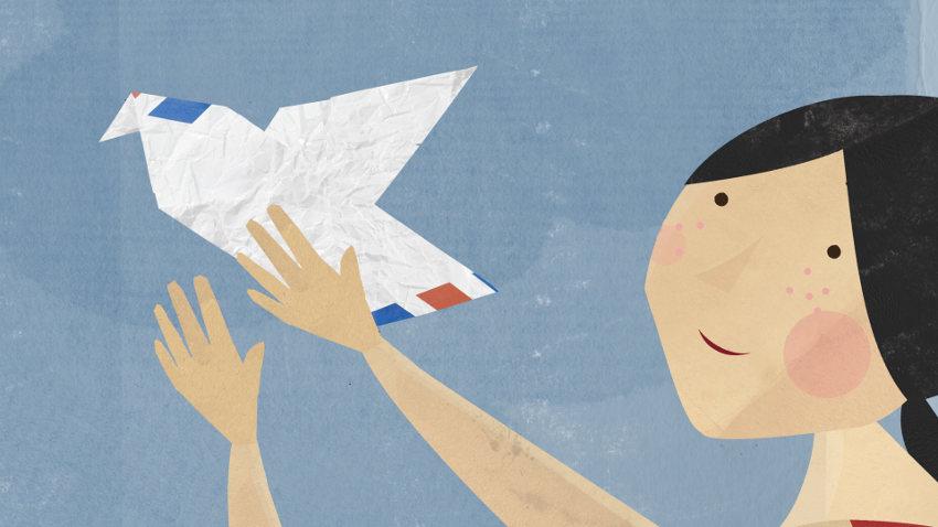 Airmail (Messages Dans L' Air) by Isabelle Favez